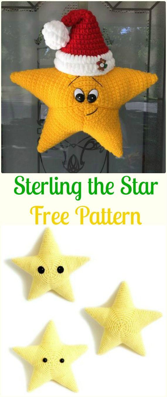 Crochet Sterling the Star Free Pattern - Crochet Star Free Patterns