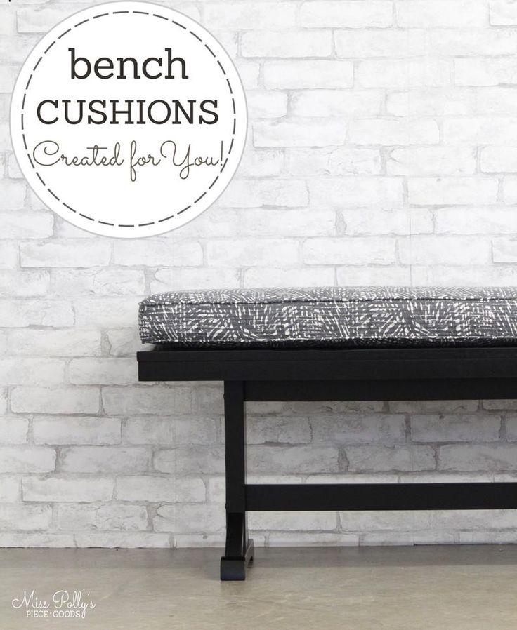 Custom Cushions Bench Cushions Window Seat Cushions Box