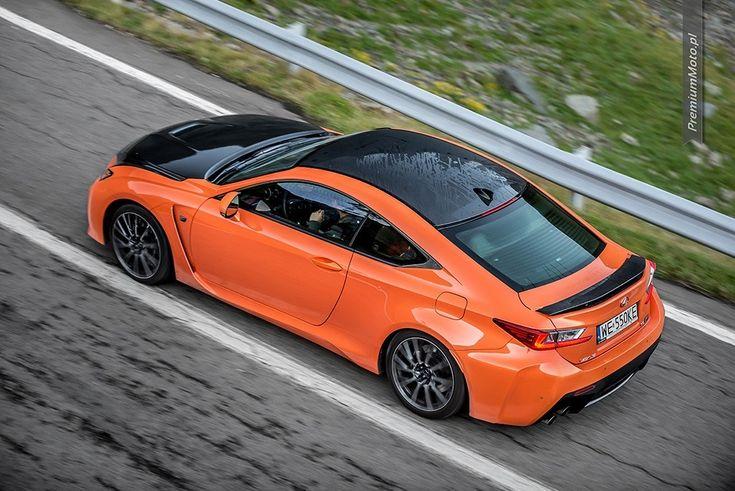 Lexus RC-F Carbon in the run