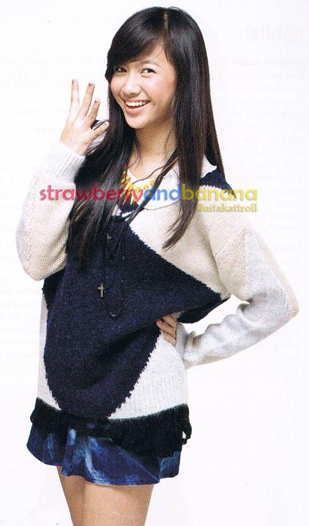 Model by Shania Junianatha (JKT48)