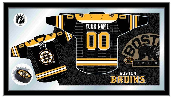 Boston Bruins NHL Jersey Mirror