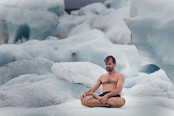 Your autonomic nervous system is out of your conscious control — it's involuntary. You can't tell your immune system how much it should respond to a particular threat any more than you can consciously digest your food. But then again not all of us have spent years of our lives meditating like Wim Hof, aka The Iceman.