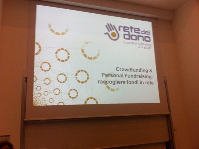 Salone della CSR e dell'innovazione sociale... #Retedeldono presente! #CSRIS13 #crowdfundingCSR
