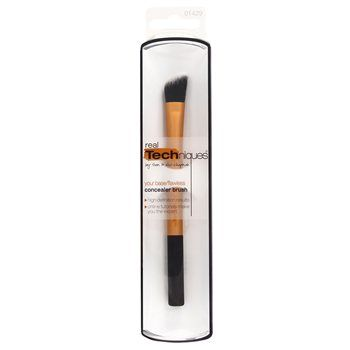 Real Techniques Concealer Brush Real Techniques Concealer Brush The angled cut provides precision application to camouflage skin imperfections and create a spotless base for any look. use with a liquid or cream concealer, or foundat http://www.MightGet.com/january-2017-12/real-techniques-concealer-brush.asp