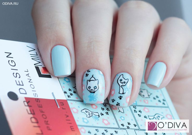 "Milv, лак для ногтей (#9) http://odiva.ru/~j2ovY Milv, слайдер-дизайн ""Котик S179"" http://odiva.ru/~nhJxz  #milv #милв #водныенаклейки #наклейкидляногтей #слайдердизайн #наклейкинаногти #дизайнногтей #ногти #идеиманикюра #маникюр"