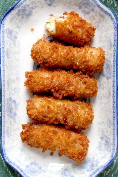Virginia Ham and White Cheddar Croquettes | SAVEUR