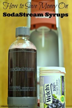 This post gives a great tip on how to save money on SodaStream syrups.