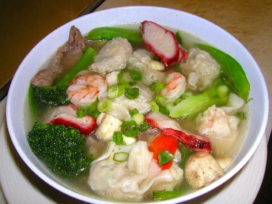 Chinese War Wonton Soup.. Made this last night, really good recipe for it!