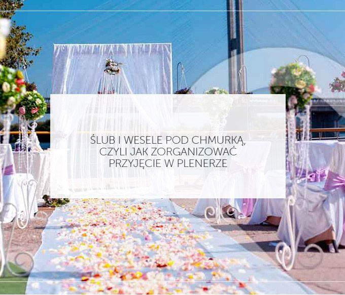 """Któż z nas nie wzdychał podczas komedii romantycznych, gdy główna para bohaterów szeptała sobie sakramentalne """"tak"""" pod girlandą kwiatów wśród zielonego, rozkwitającego ogrodu? http://smartbride.pl/slub-wesele-chmurka-czyli-zorganizowac-przyjecie-plenerze/"""