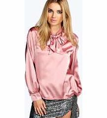 boohoo Kiara Long Sleeved Silky Pussy Bow Blouse - Team toned down trousers with an eyes- on-me evening top for the perfect party pairing. Make the move to midnight dressing with muted tones and icy metallic hues, statement sequins and entrance-making http://www.comparestoreprices.co.uk/blouses/boohoo-kiara-long-sleeved-silky-pussy-bow-blouse-.asp