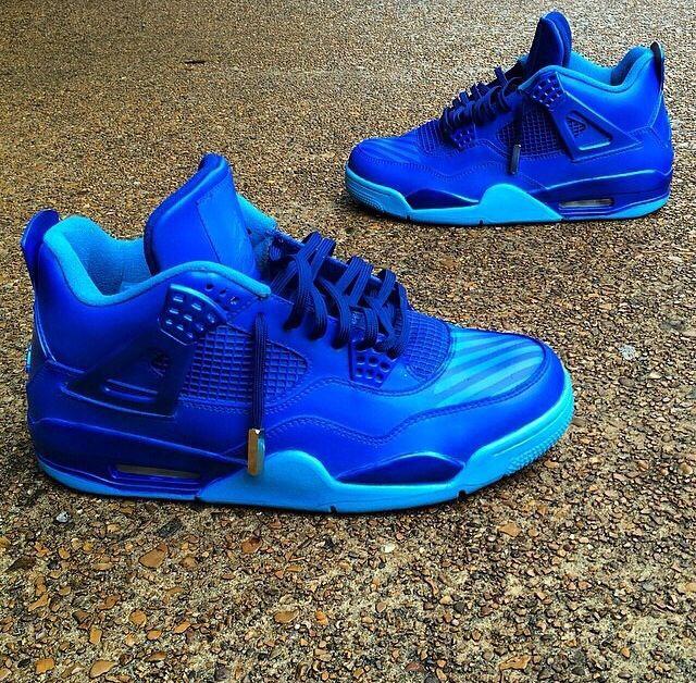 Calikid blue 4's Zapatos, Fondo de pantalla para teléfonos