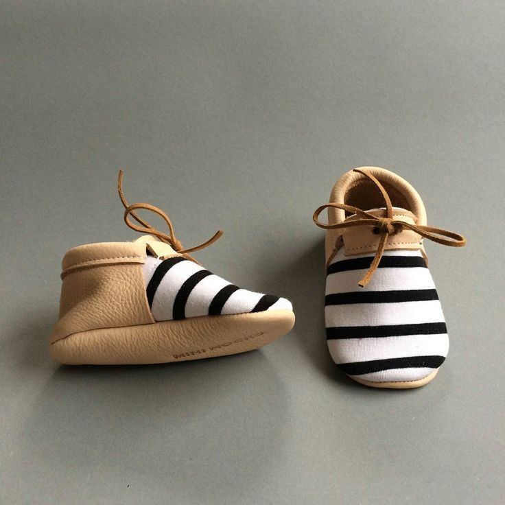 Tiny Shoes | be Frank via Mini Mocks. Cute baby shoes we wish we could wear, too. https://www.romperbaby.com