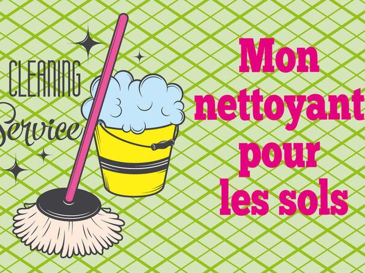 Lavez et désinfectez votre sol avec ce produit naturel, pas cher et très facile à faire à la maison.