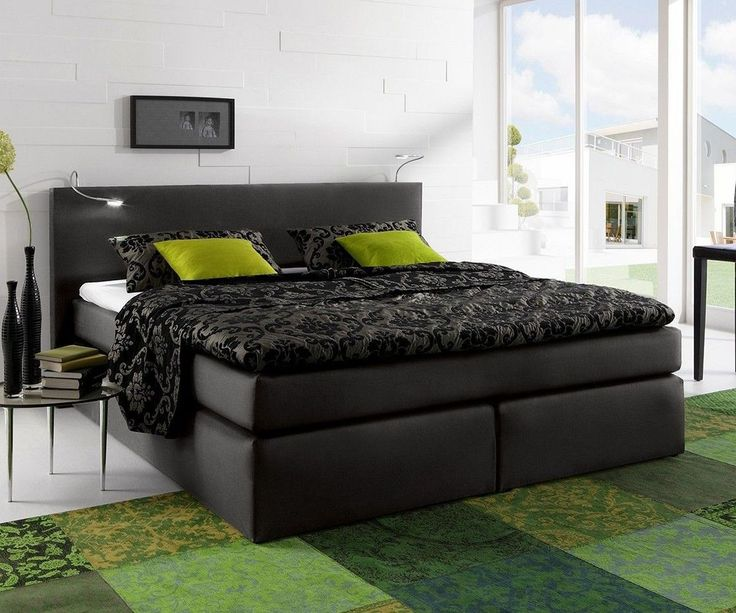 Boxspringbett 140x200 schwarz  36 best DELIFE - Deluxe Beds images on Pinterest | Beds, Bed and ...