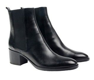 'Jesse' black cuban heel boot at habbot. #cuban #boot www.habbotstudios.com