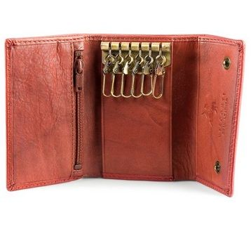 A neat pocket-sized essential. Hold all your keys safely in this soft leather pouch. Designed to suit demanding needs. Blending the finest leather with years of experience in bags manufacturing, This key wallet offers its clients the perfect combination of durable, practical and affordable design. #KeyWallets #Keys #Wallet