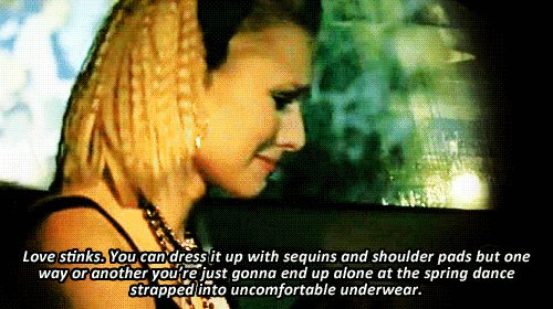 Veronica Mars wisecracks - Love