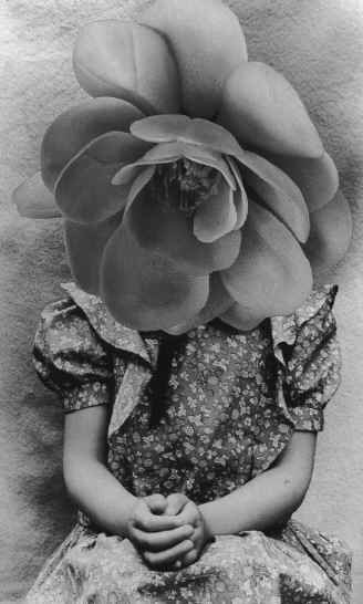 mari mahr, from 'presents for suzanne' (1985), a series of small gifts placed on the image of a childhood friend