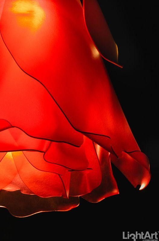 3form LightArt ROSE PENDANT Sassy + Powderpuff #MaterialRepublic #3form #Lighting #InteriorDesign