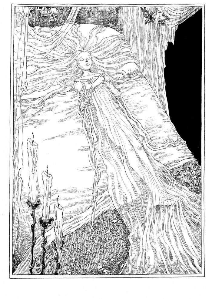 The Sleeper and the Spindle by Neil Gaiman and Chris Riddell.