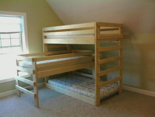 triple bunk beds for sale foter
