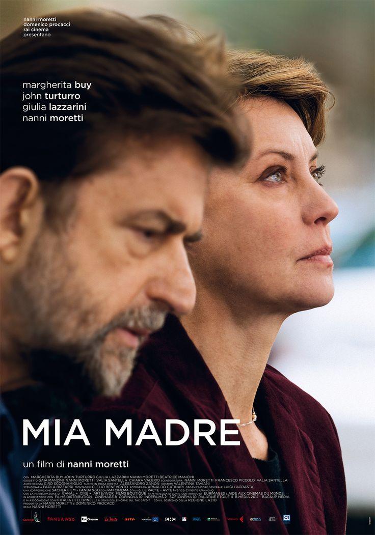 Un film di Nanni Moretti. Con Margherita Buy, John Turturro, Giulia Lazzarini, Nanni Moretti, Beatrice Mancini. #miamadre #locandina