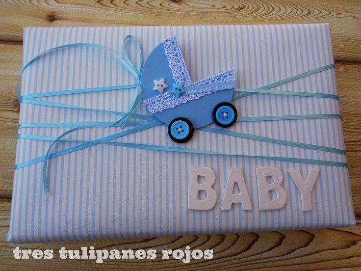 Las 25 mejores ideas sobre envoltura de regalo de beb en - Envoltorios originales para regalos ...