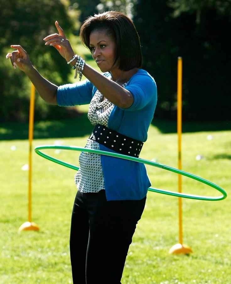 Michelle Obama & Hula