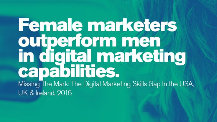 In a remarkable number of case studies, female marketers seem to outperform their male counterparts. #IWD  #Gettingtoequal #BeBoldforChange #InternationalWomensDay #WomensHistoryMonth #ifactory  #Ifactorydigital