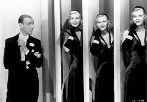 Christina Stewart kicks off an exuberant new year with a look at Fred Astaire and Ginger Rogers in Shall We Dance.