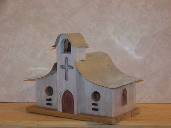 29 best images about southwestern birdhouses on pinterest for Bird house styles