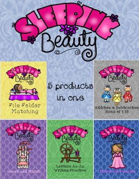 Sleeping Beauty Activities is a bundle of 5 activities including the ...