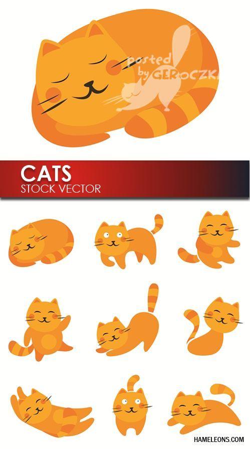 """Результат пошуку зображень за запитом """"кот лежит вектор"""""""
