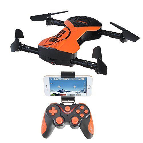 Kingtoys Plegable RC Drone APP Control Aéreo Quadcopter Una llave de vuelta Drone Girocompás de 2,4 G 6 Ejes Con cámara 1M Luz LED, Voz de Control de Voz - http://www.midronepro.com/producto/kingtoys-plegable-rc-drone-app-control-aereo-quadcopter-una-llave-de-vuelta-drone-girocompas-de-24-g-6-ejes-con-camara-1m-luz-led-voz-de-control-de-voz/