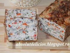 Absolut Delicios - Retete culinare: CHEC DIN CARNE DE PUI CU CIUPERCI, MASLINE SI ARDEI