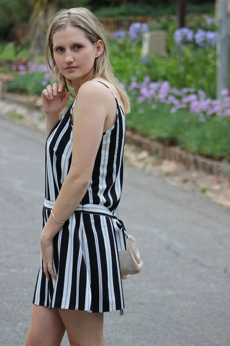 Slip dress with high slits