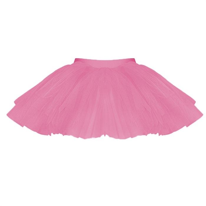 Starlite Tutu Skirt. Three layer Tutu Skirt on elasticated waistband. Nylon  Lycra Band with
