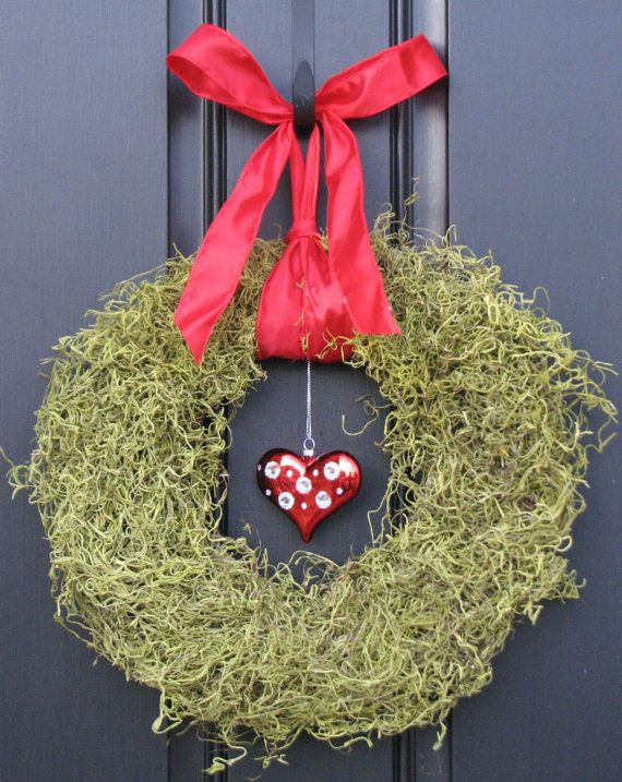 Cute wreath for Valentine's Day