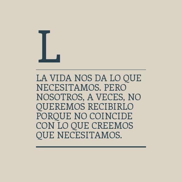 La vida #frases
