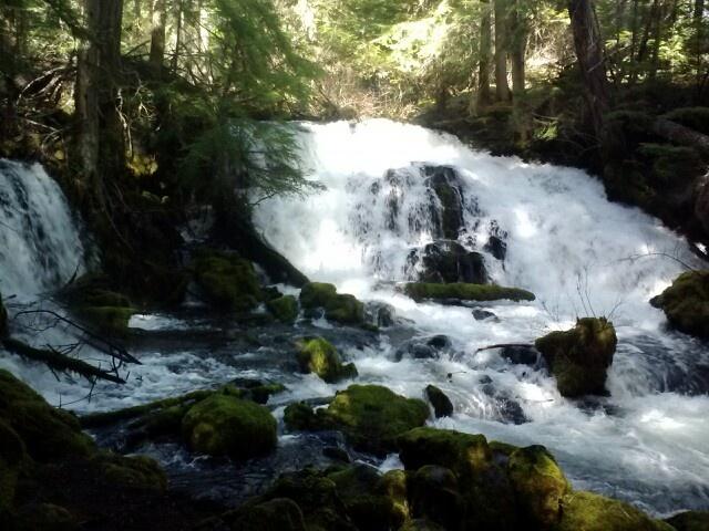 Waterfalls near Medford Oregon