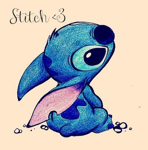 Stitch Disney Drawing Pinterest Cute Disney Drawings