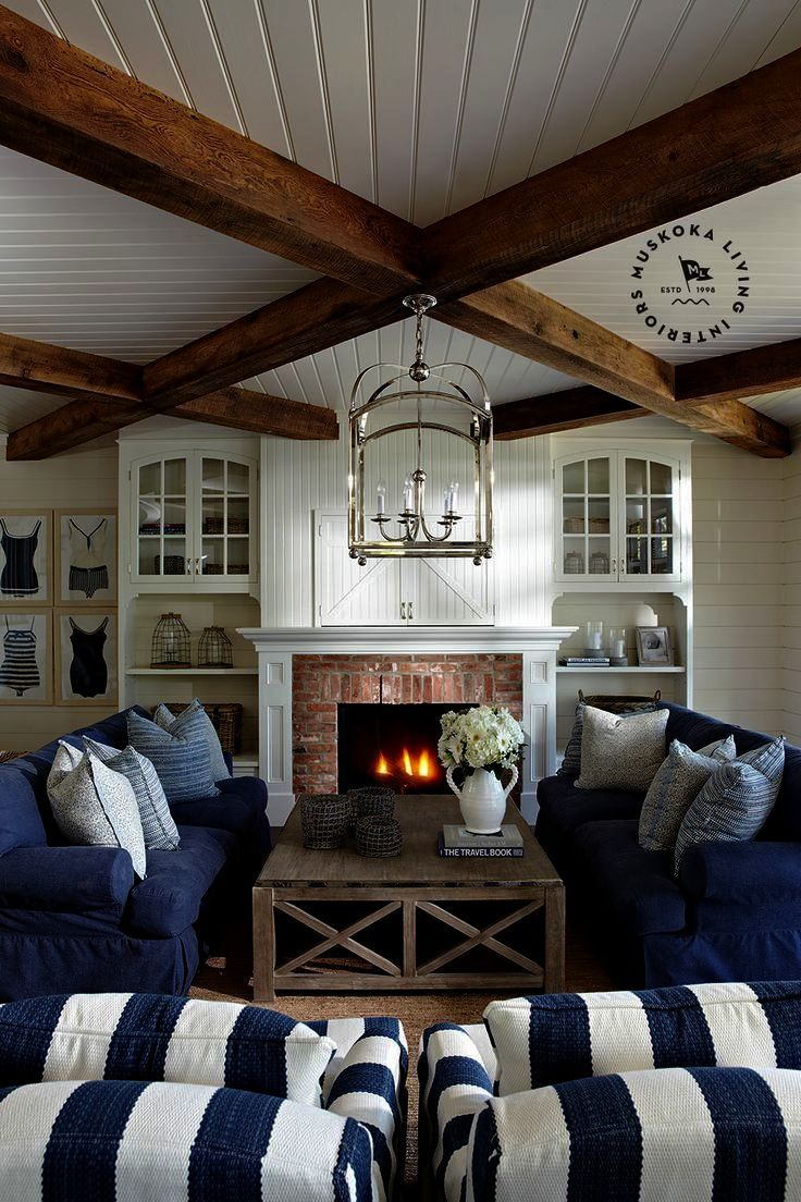 Coastal Style Living Room Ideas Hamptons Beach House Interior