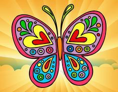 Ms de 25 ideas increbles sobre Mandala mariposa en Pinterest