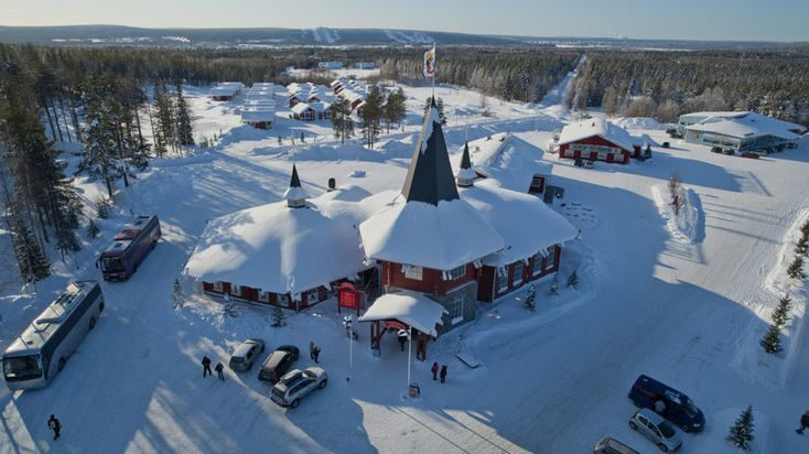 Christmas House Santa -Rovaniemi, Lapland, Finland