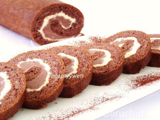 Fotorecept: Kakaová roláda