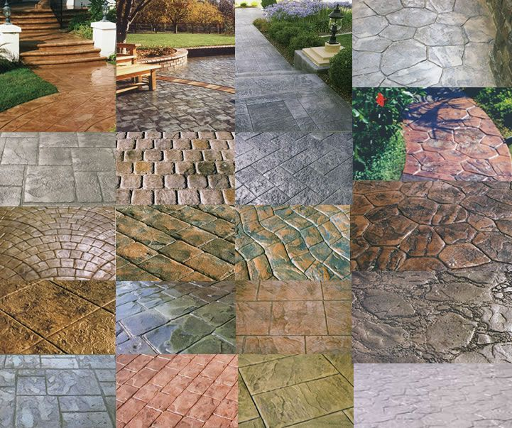 stamped concrete patterns stamping wood pattern maryland stamp for patios images