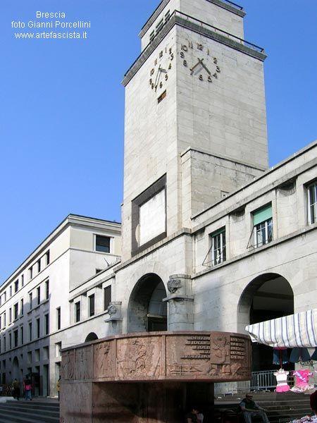 FASCISMO - ARCHITETTURA - ARTE - Brescia