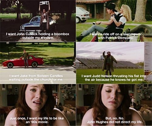 lovvee this movie!! I also want to live in an 80's movie