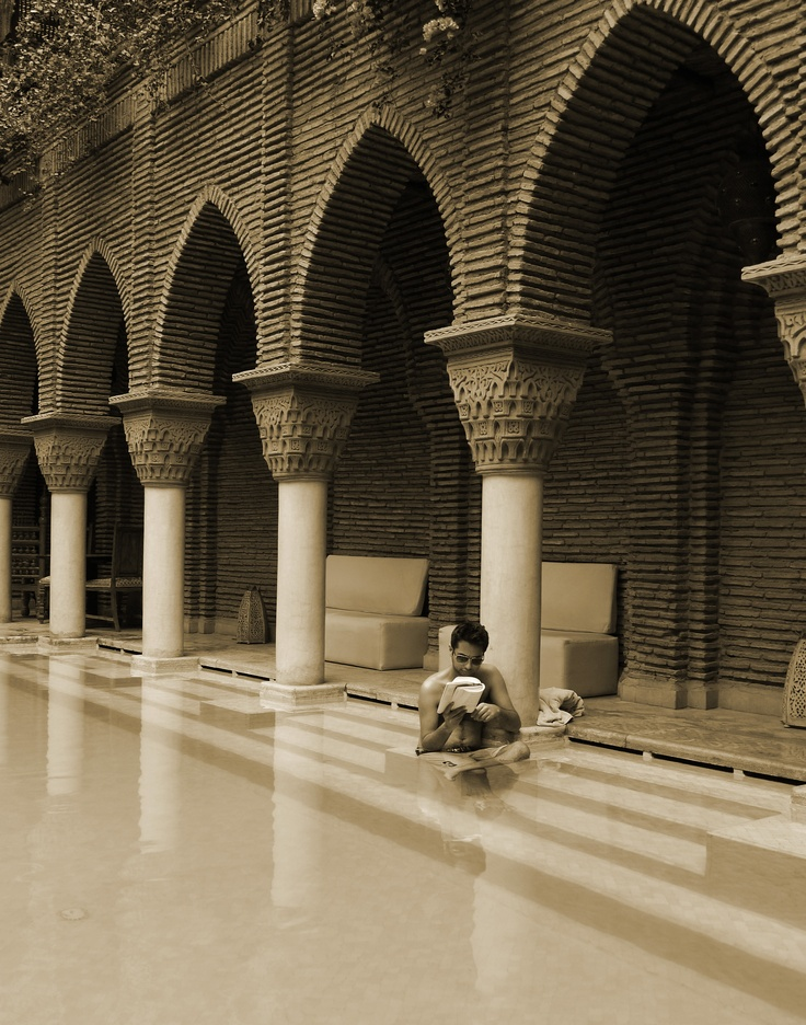 Under the arches of Marrakech