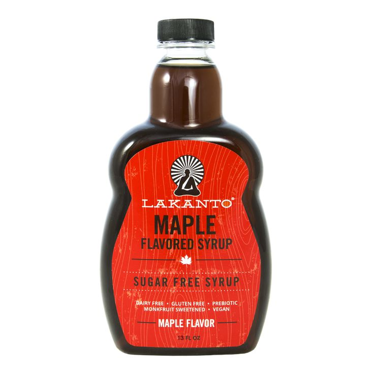 Maple Flavored Sugar-Free Syrup – Lakanto